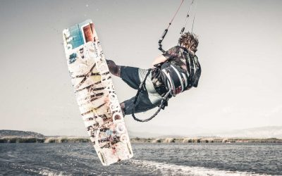 The right kiteboard size for beginners and upcoming riders