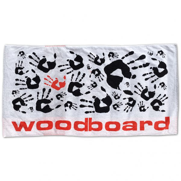 Woodboard beach towel