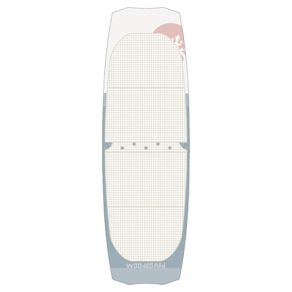 Strapless Twintip Split Kiteboard – The travel solution for fun in different conditions.
