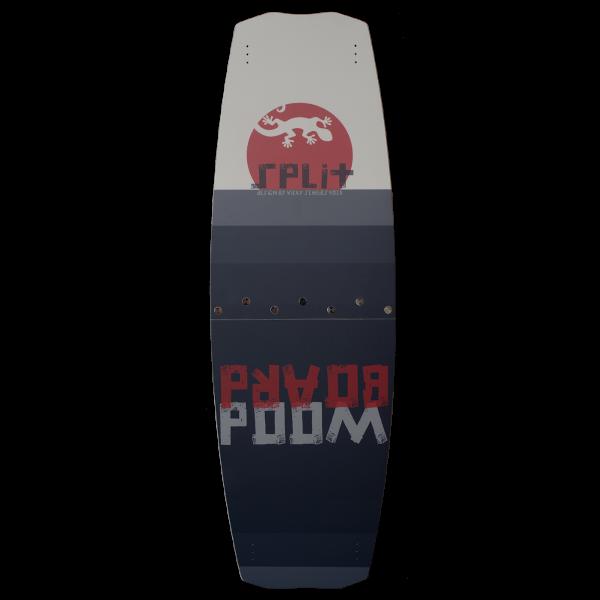 Woodboard Split, a Freeride Twintip Split Kiteboard for all kitesurfing levels!