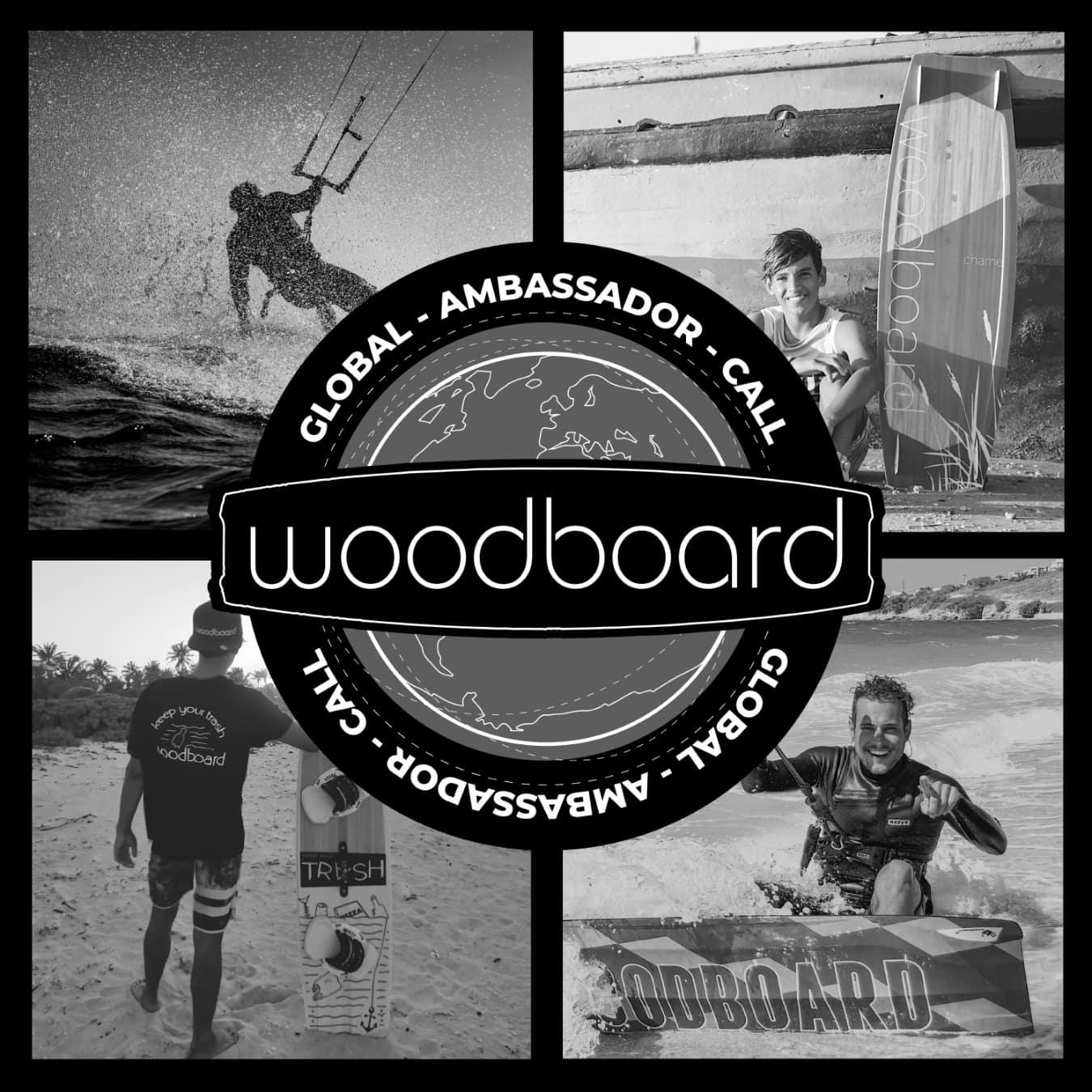 Woodboard Kitesurfing Global Ambasssador Call
