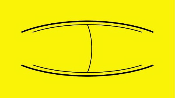 kiteboard channel_single concave & curved sidechannel